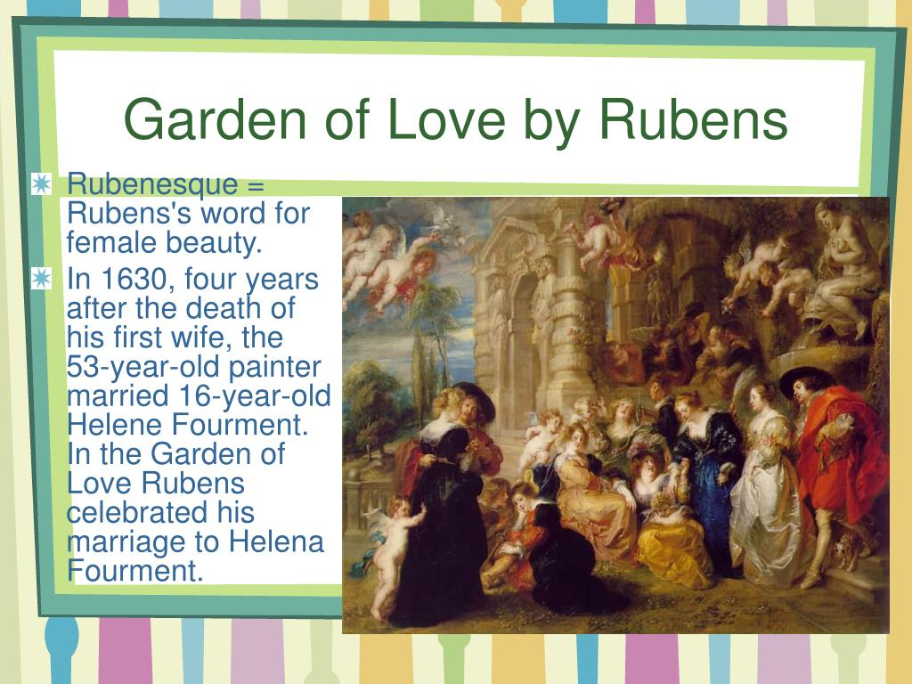 Garden of Love by Rubens