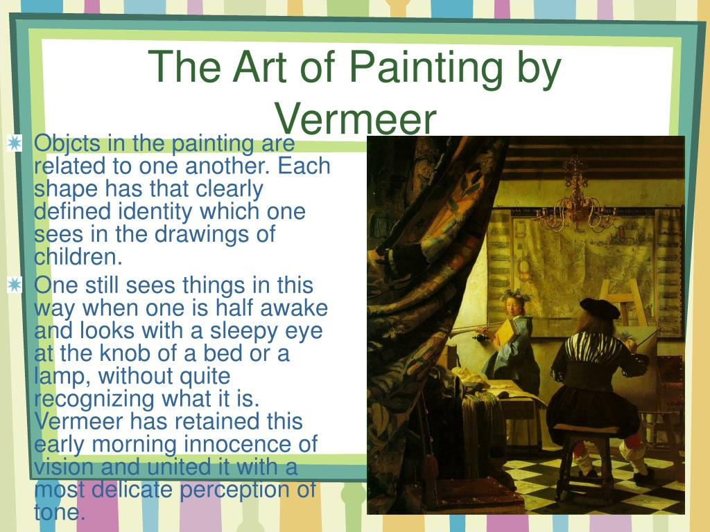 The Art of Painting by Vermeer