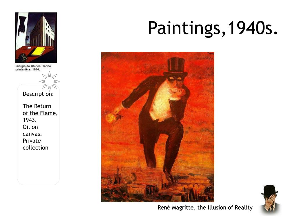 Paintings,1940s.