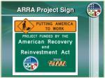arra project sign