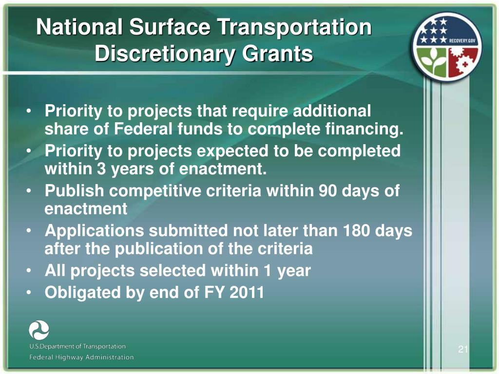 National Surface Transportation