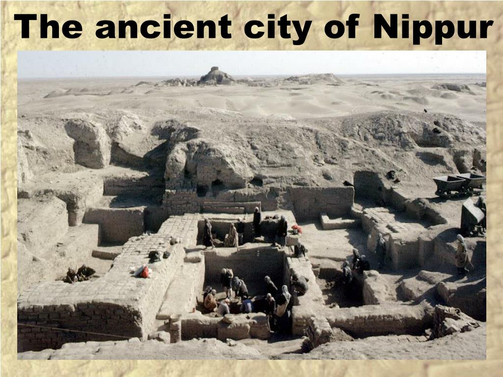 The ancient city of Nippur