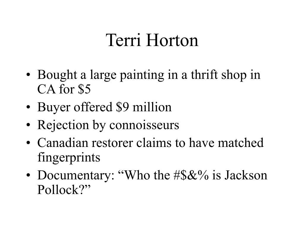 Terri Horton