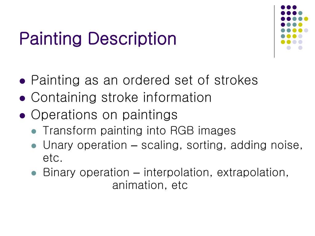 Painting Description