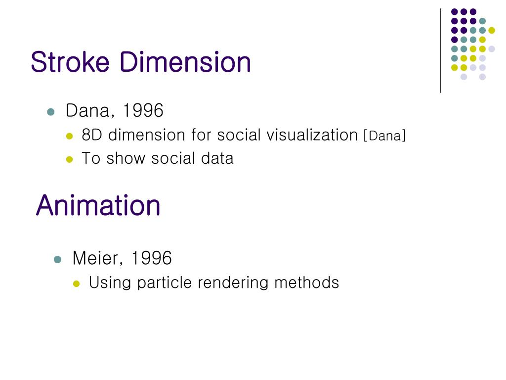 Stroke Dimension