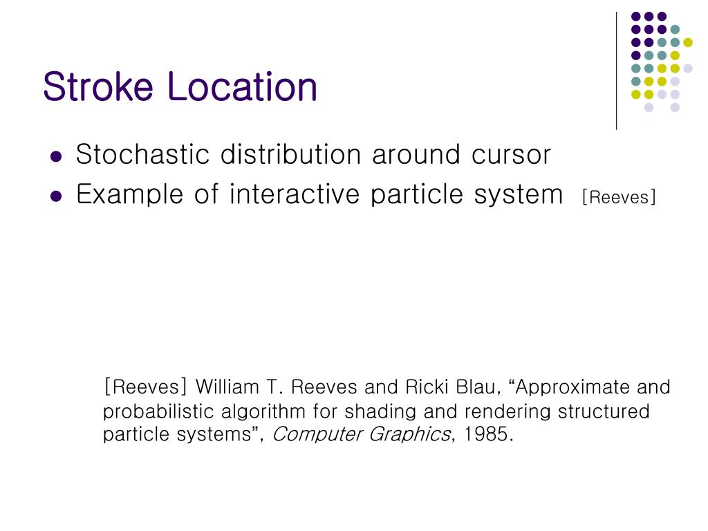 Stroke Location