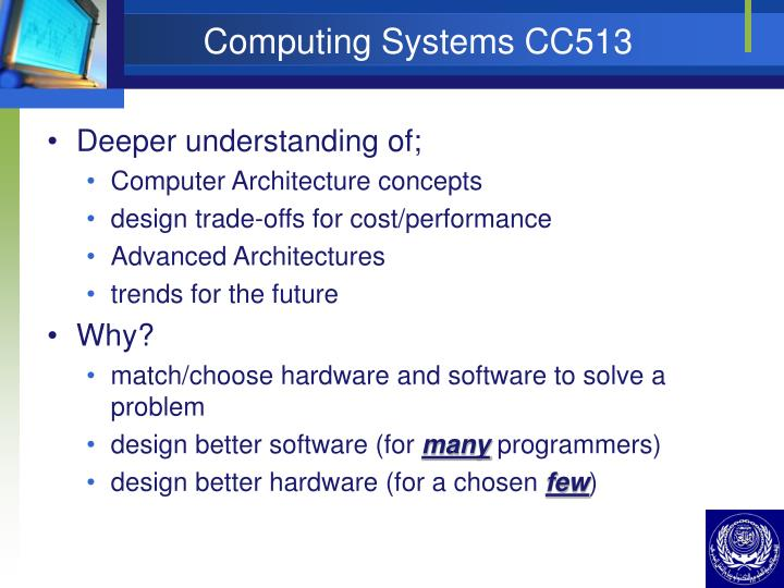 Computing systems cc5132