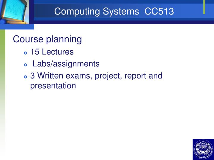 Computing systems cc5133