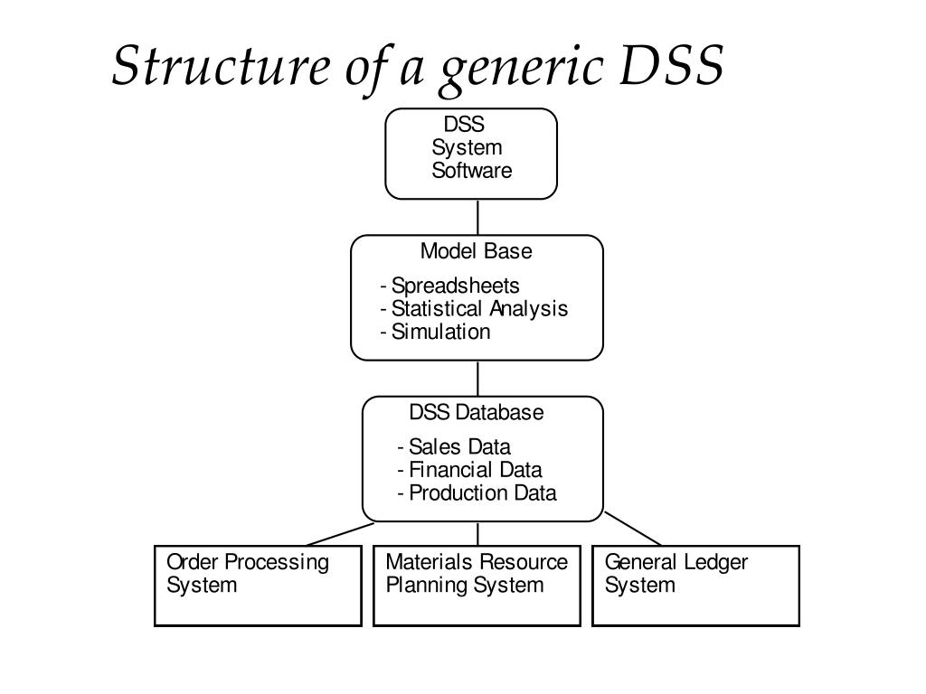 Structure of a generic DSS