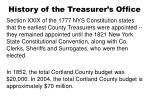 history of the treasurer s office4