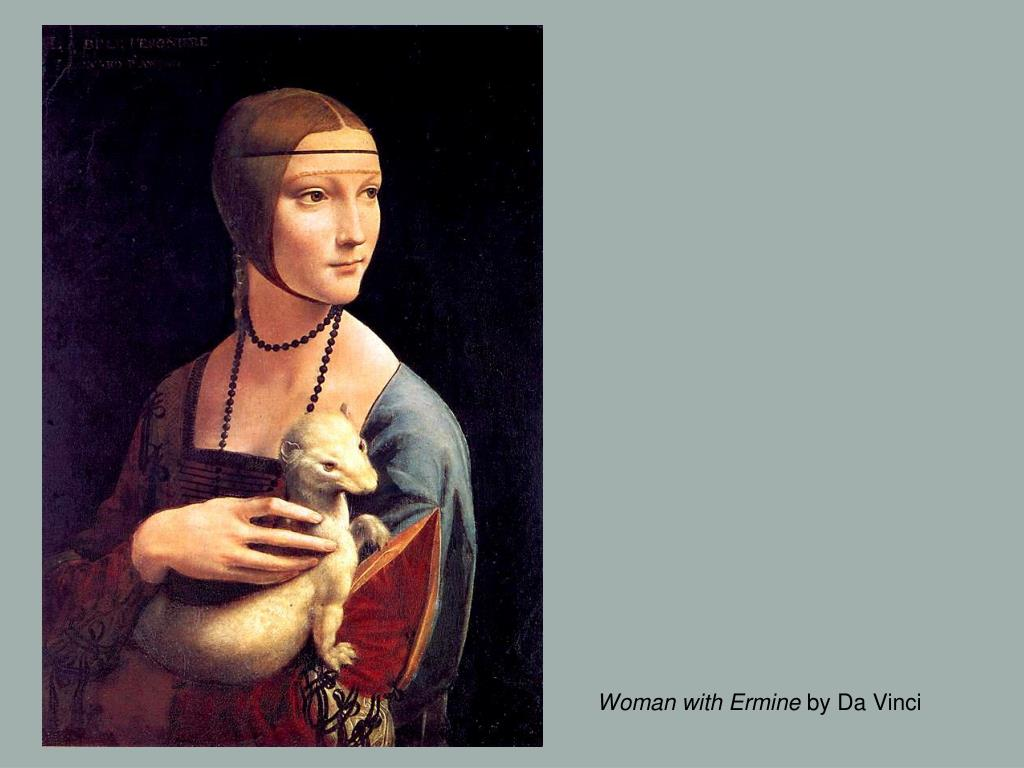 Woman with Ermine