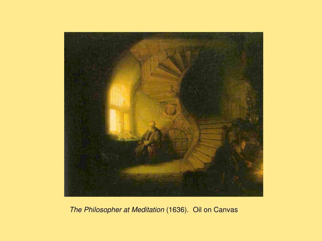 The Philosopher at Meditation