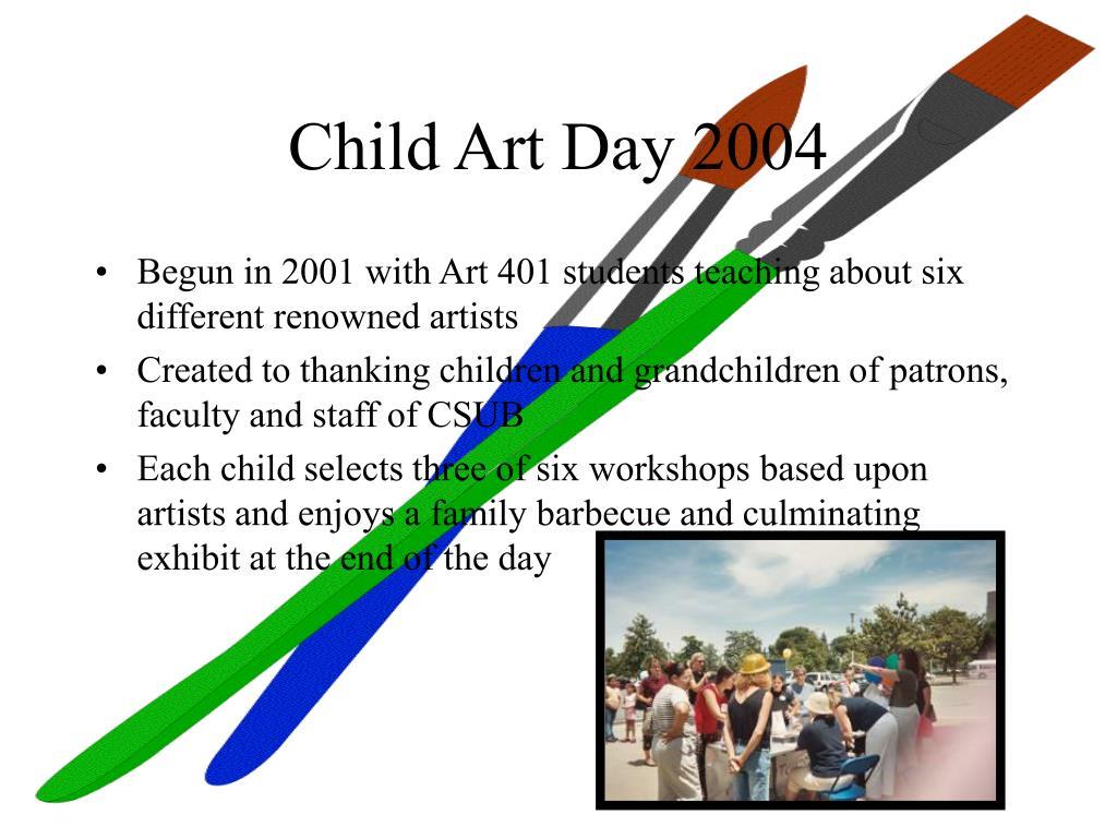 Child Art Day 2004