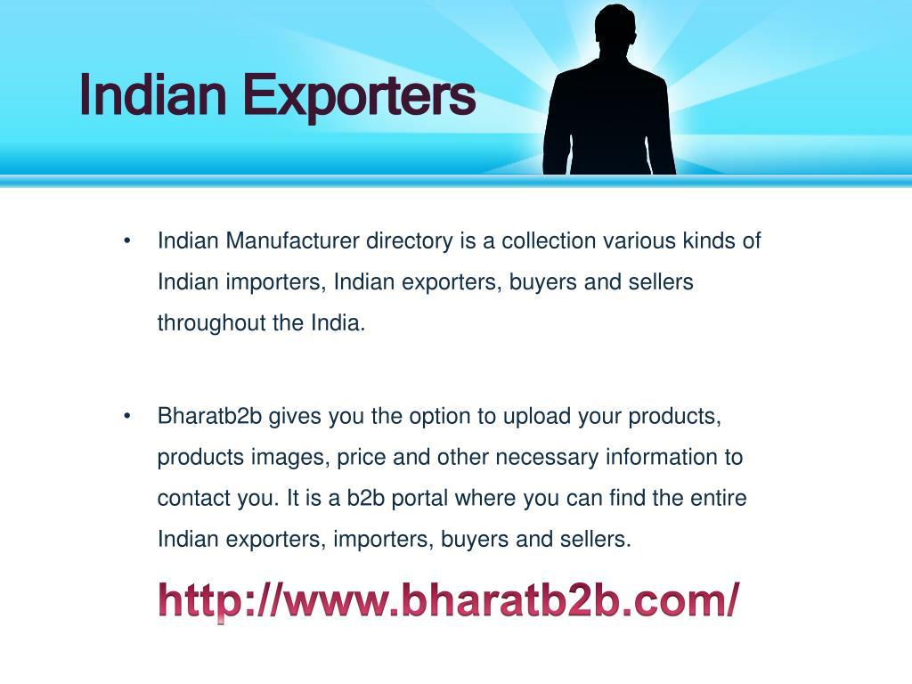 Indian Exporters