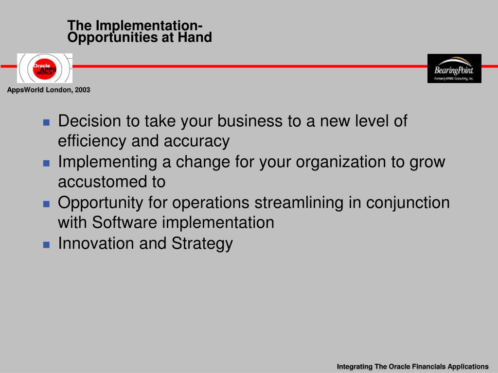 The Implementation-