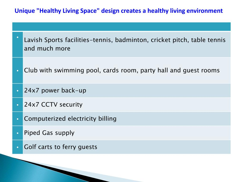 "Unique ""Healthy Living Space"" design creates a healthy living environment"