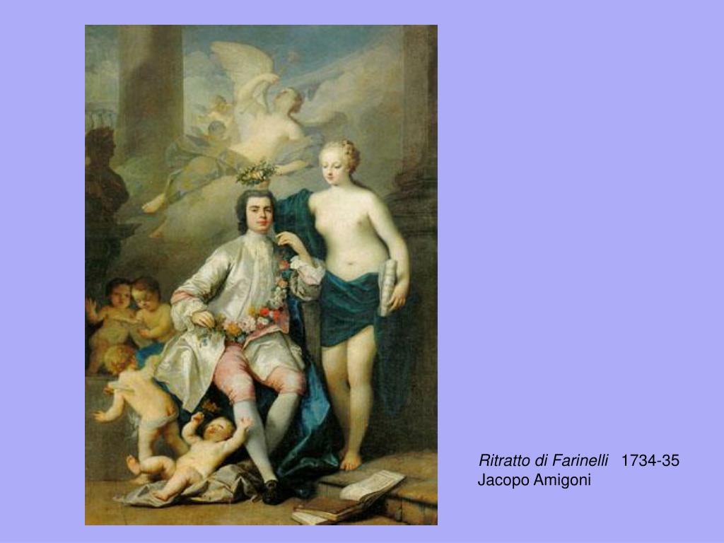 Ritratto di Farinelli