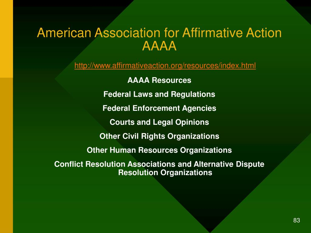 American Association for Affirmative Action