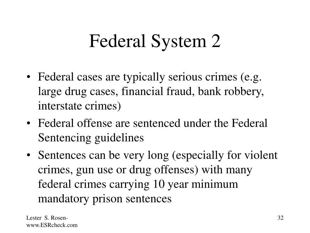 Federal System 2