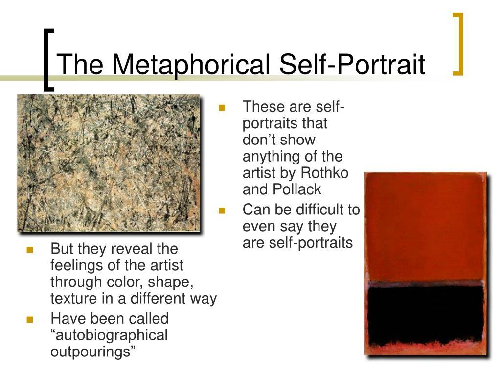 The Metaphorical Self-Portrait