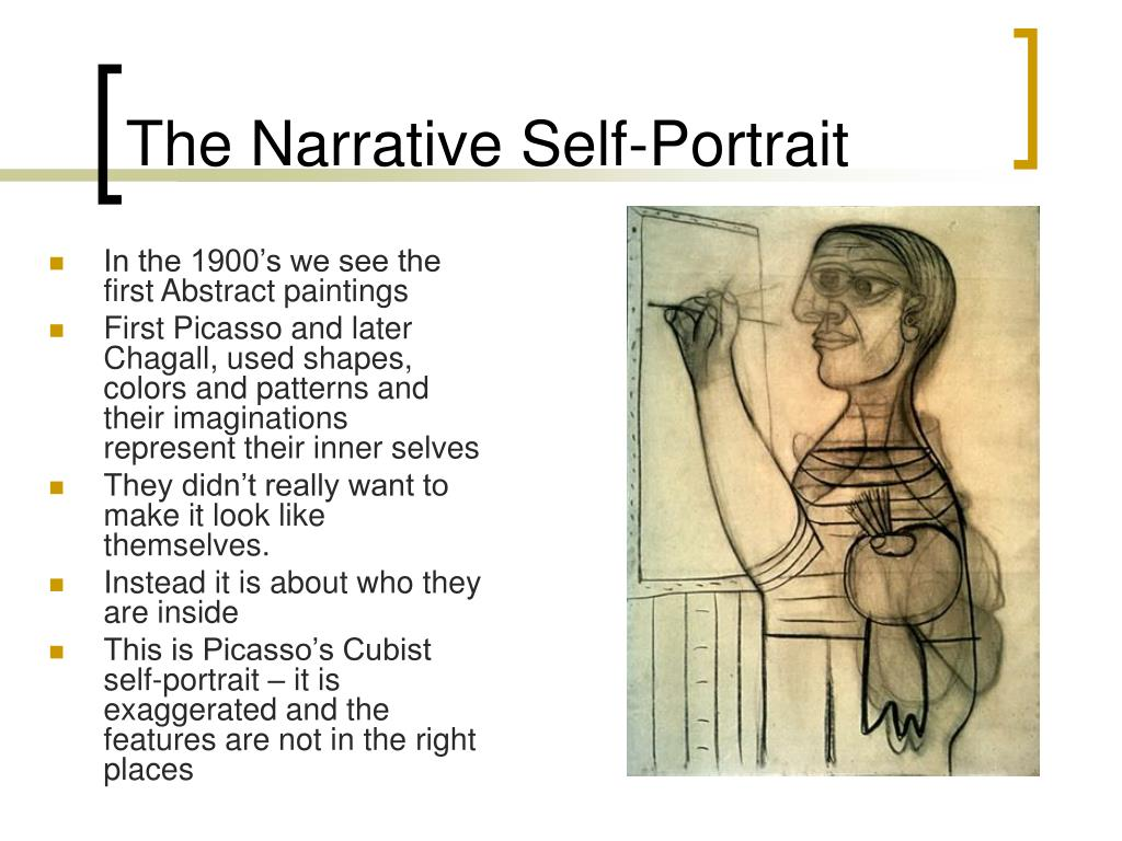 The Narrative Self-Portrait