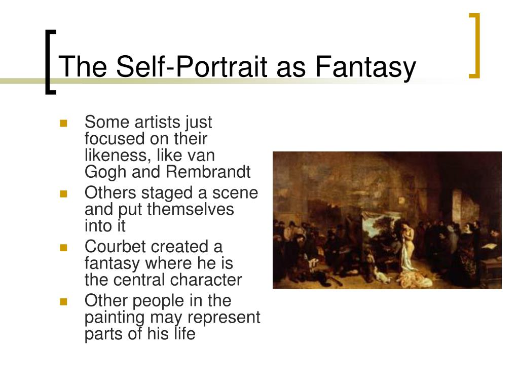 The Self-Portrait as Fantasy