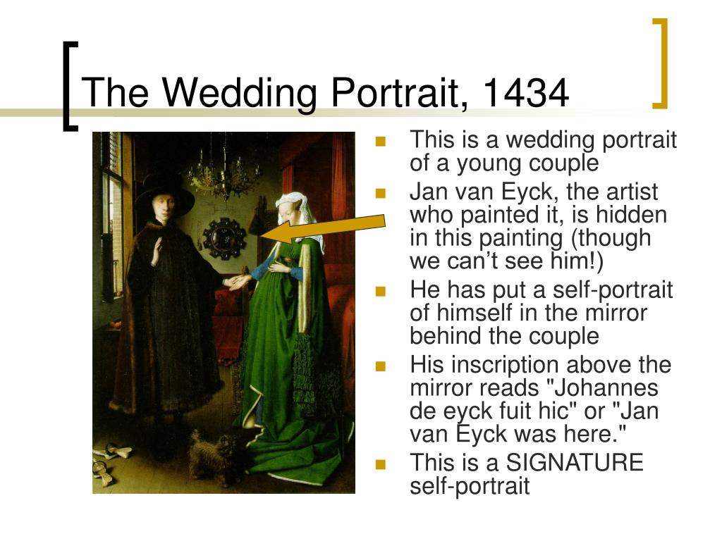 This is a wedding portrait of a young couple