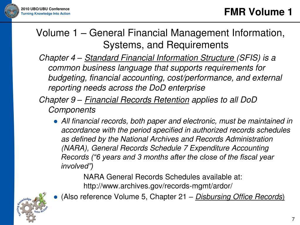 FMR Volume 1