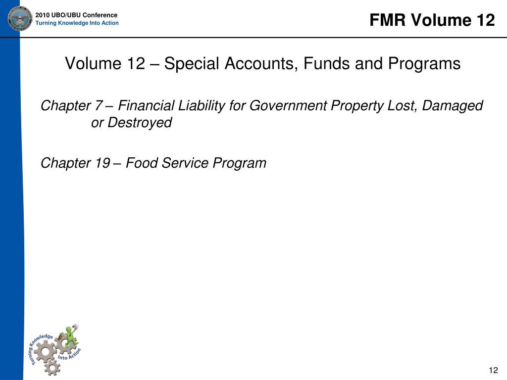 FMR Volume 12