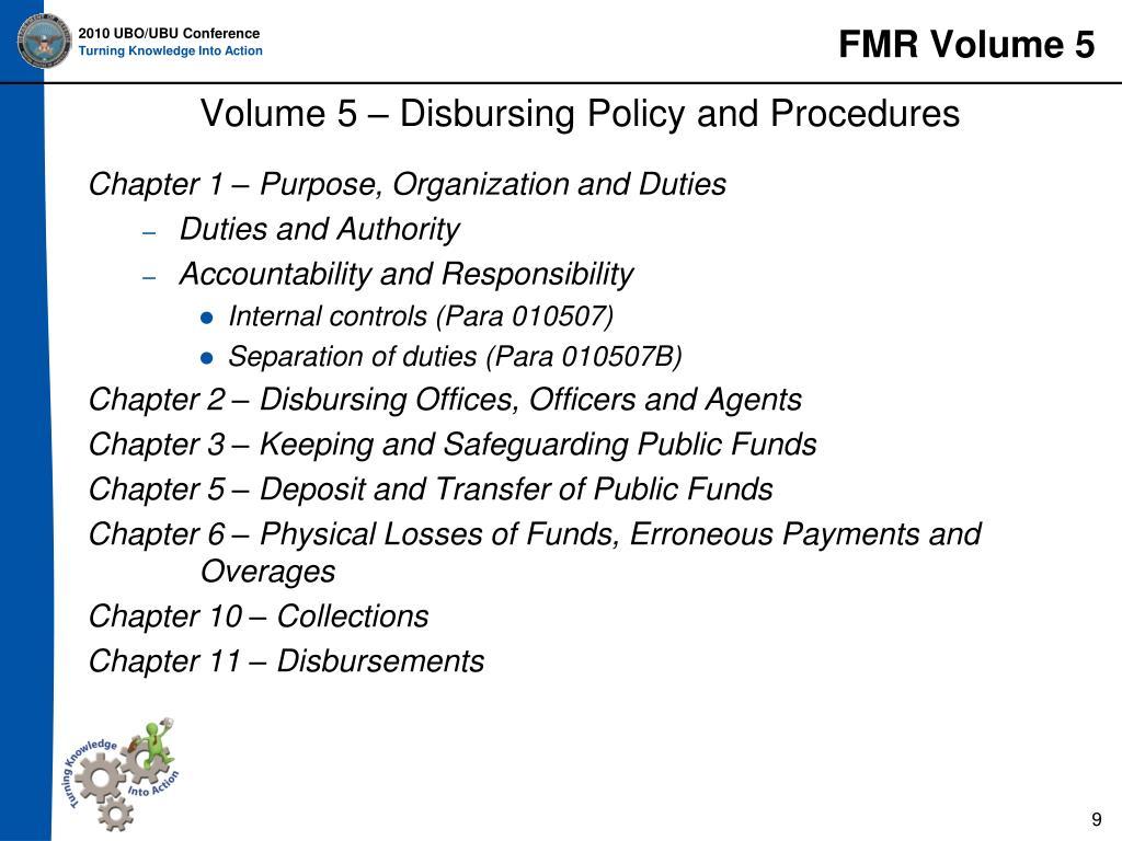 FMR Volume 5