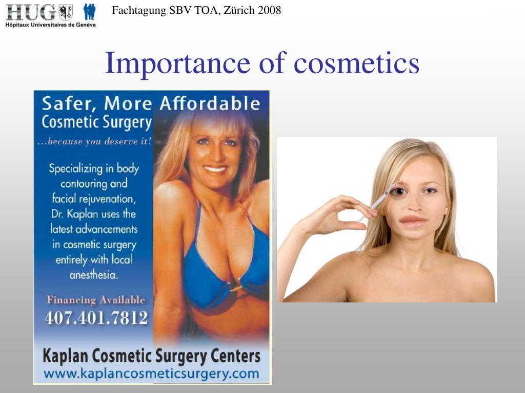 Importance of cosmetics