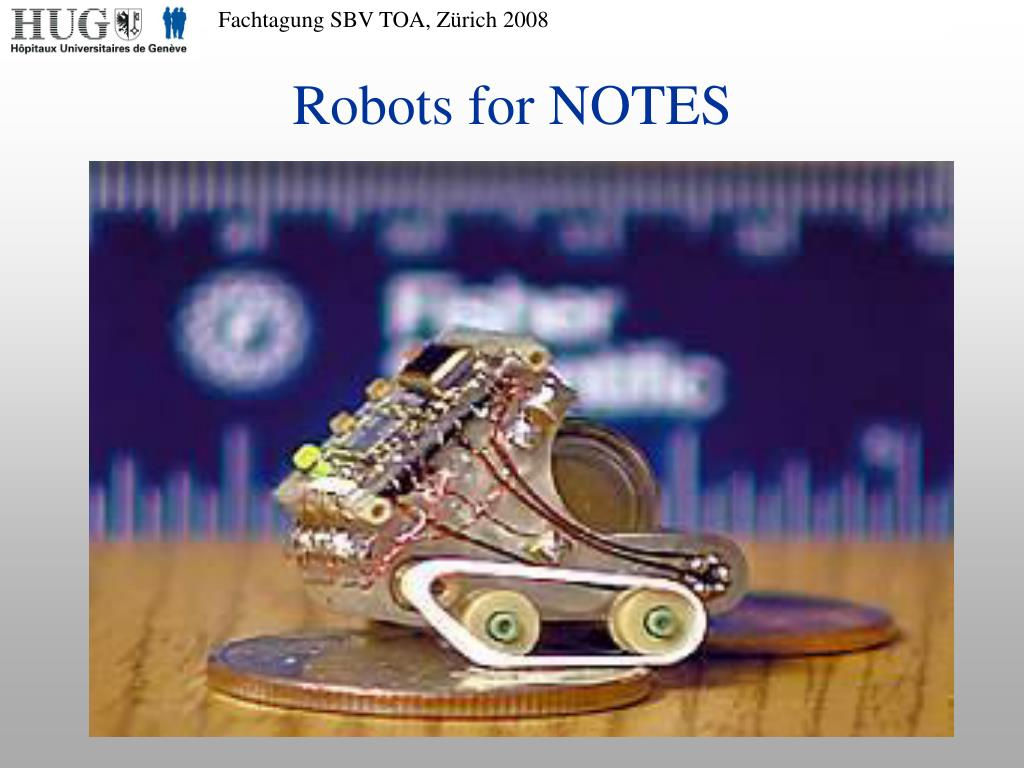 Robots for NOTES