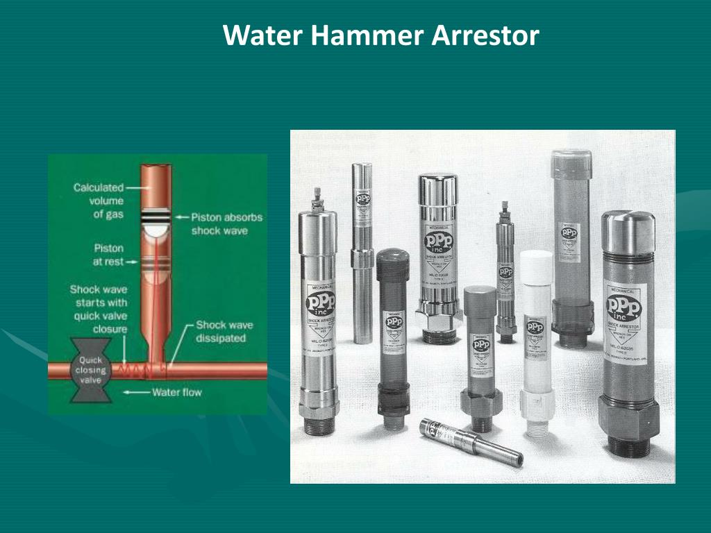 Water Hammer Arrestor