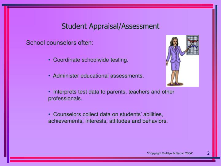 Student appraisal assessment
