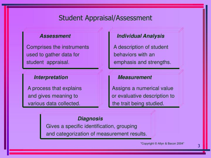 Student appraisal assessment3