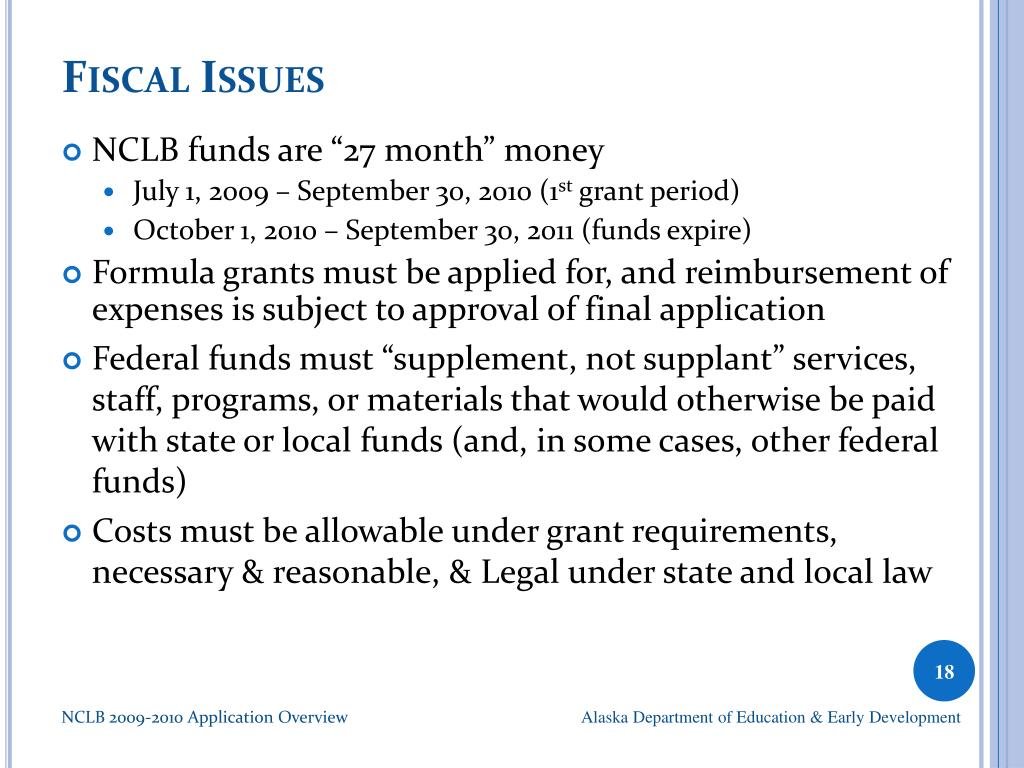 Fiscal Issues