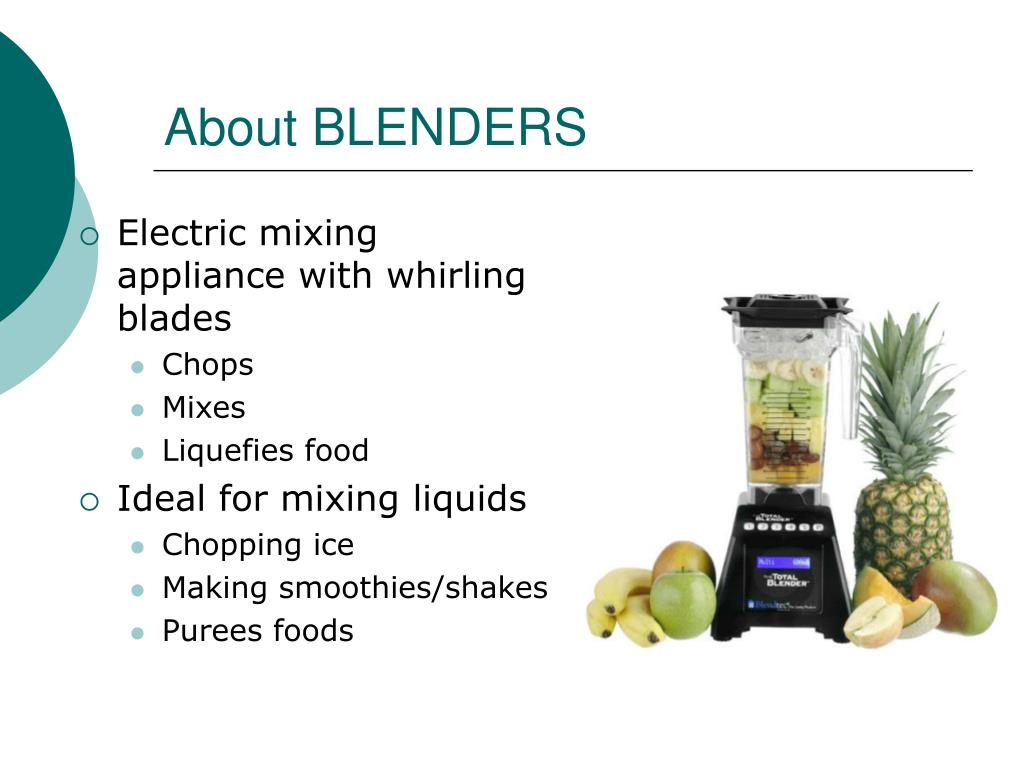 About BLENDERS