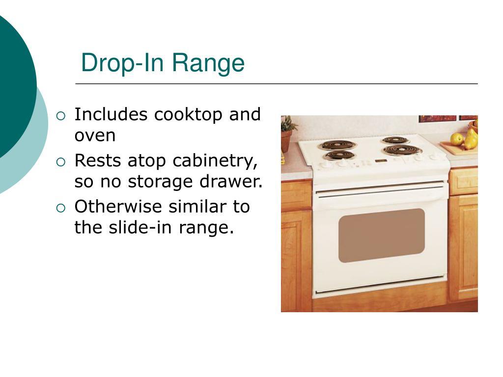 Drop-In Range