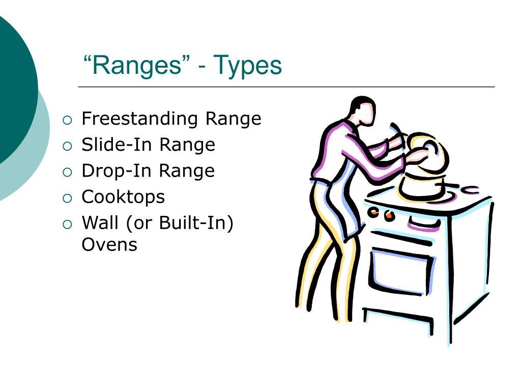"""""""Ranges"""" - Types"""