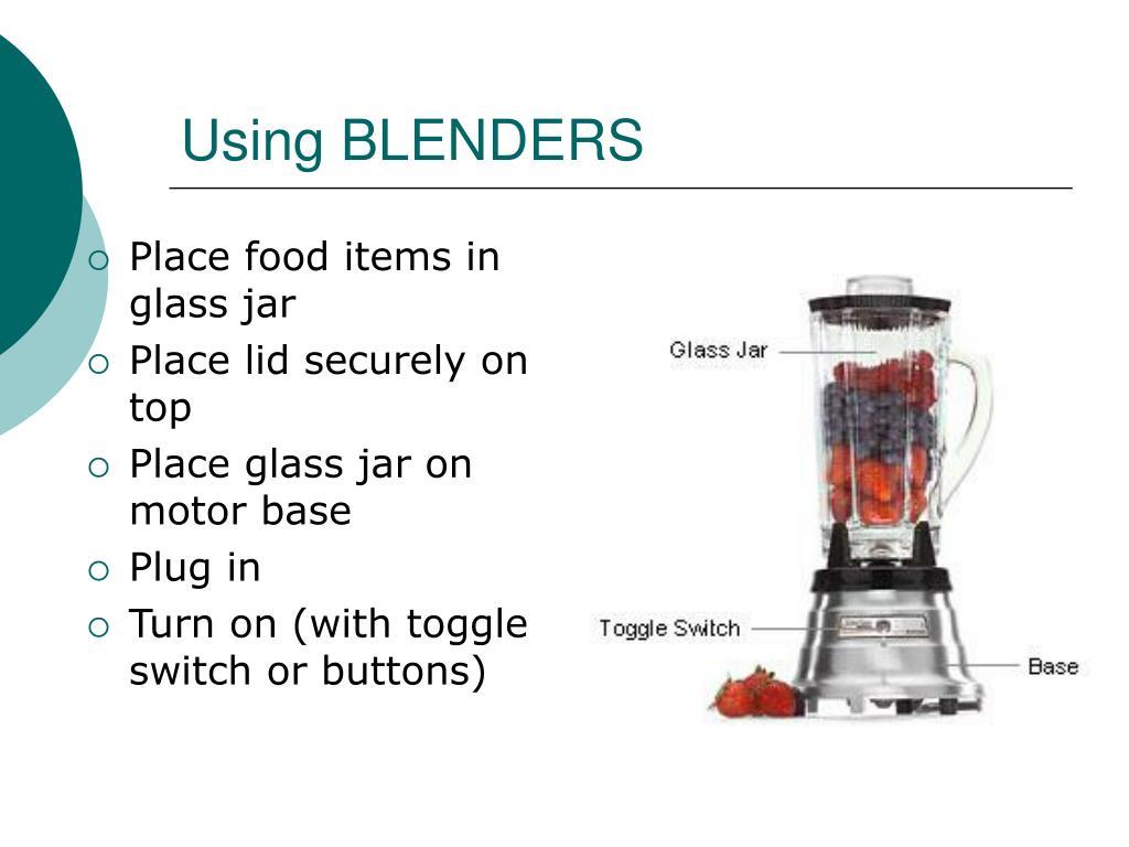 Using BLENDERS