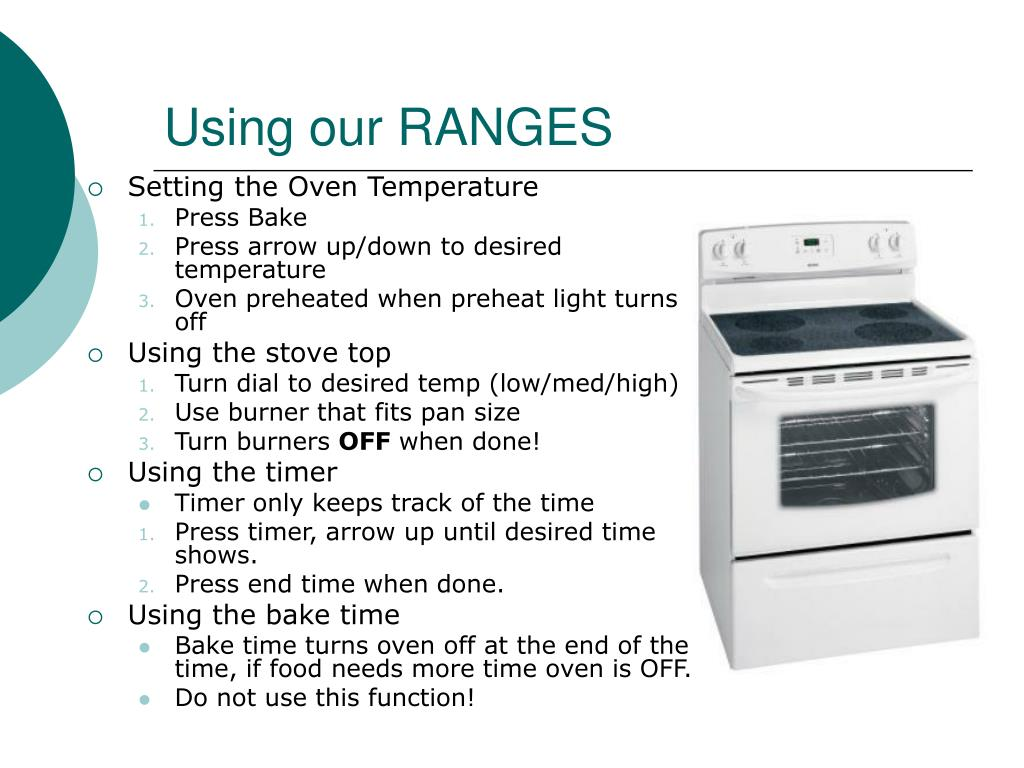 Using our RANGES