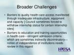 broader challenges27