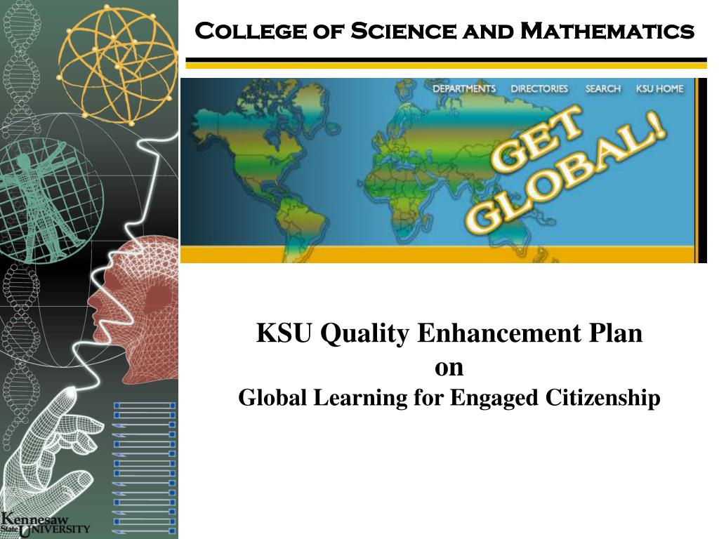 ksu quality enhancement plan on global learning for engaged citizenship