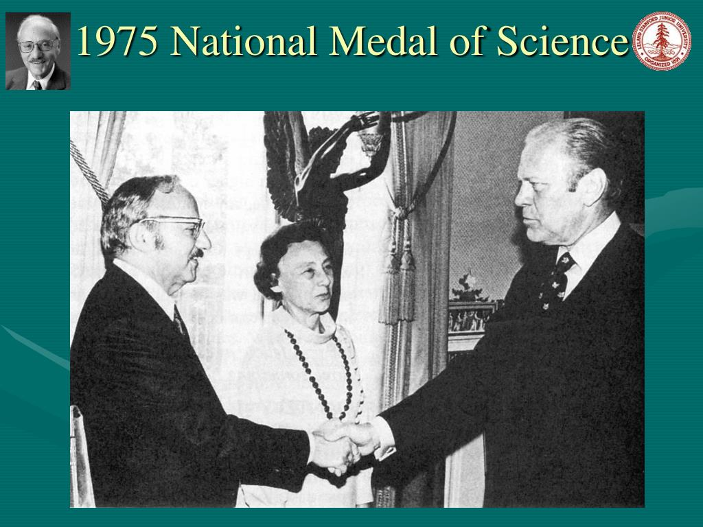 1975 National Medal of Science
