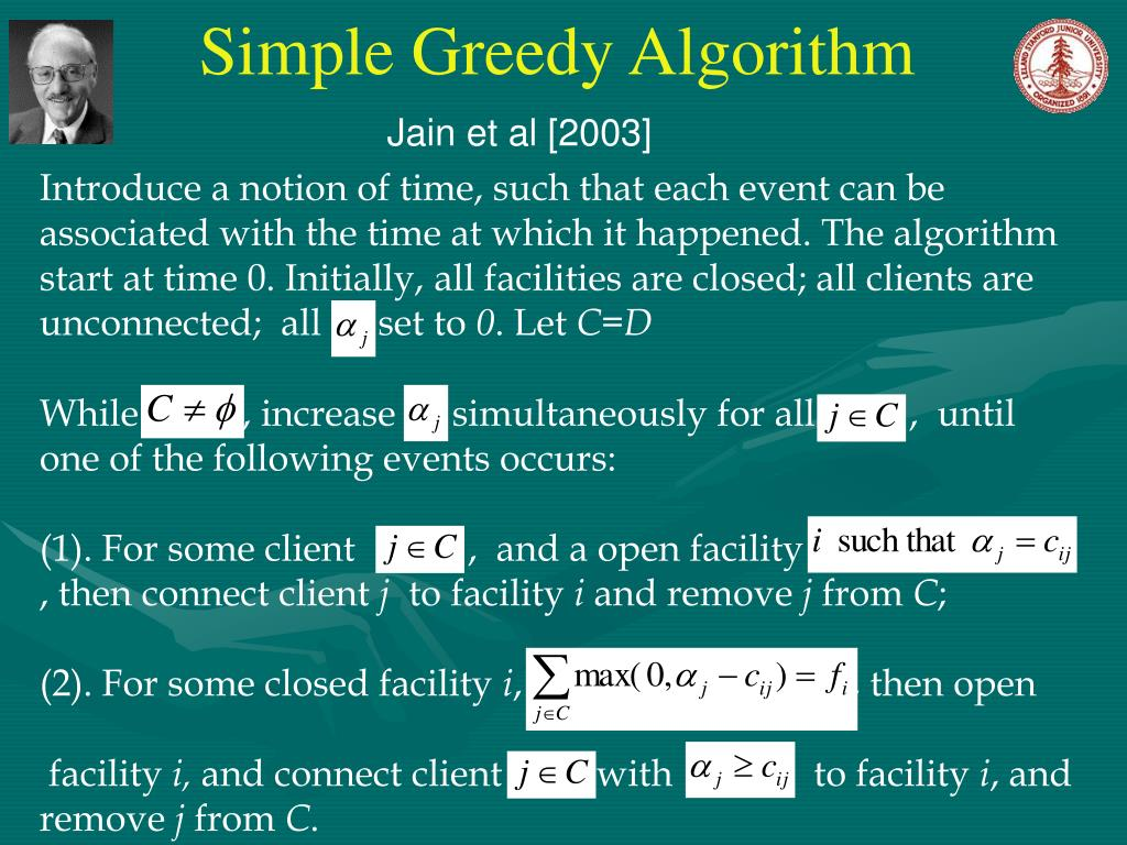 Simple Greedy Algorithm