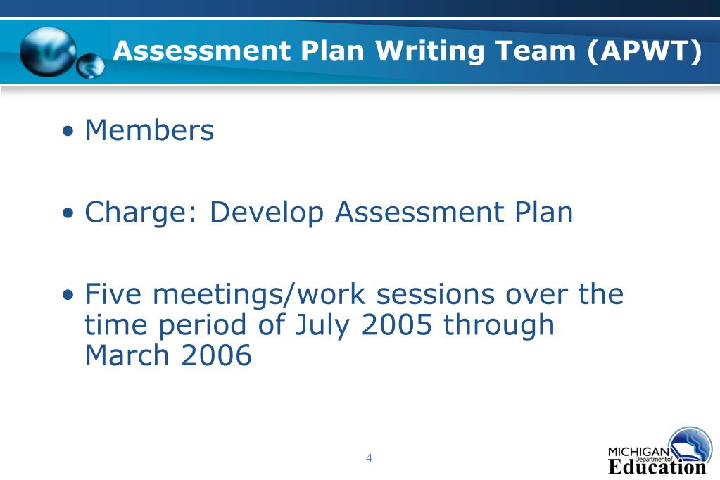 Assessment Plan Writing Team (APWT)