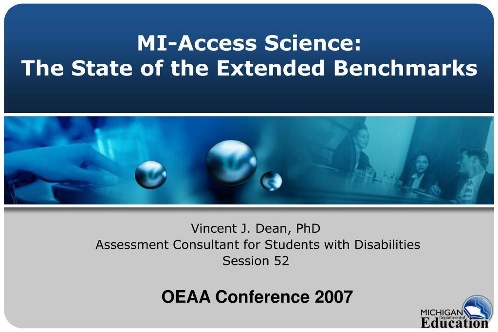 MI-Access Science: