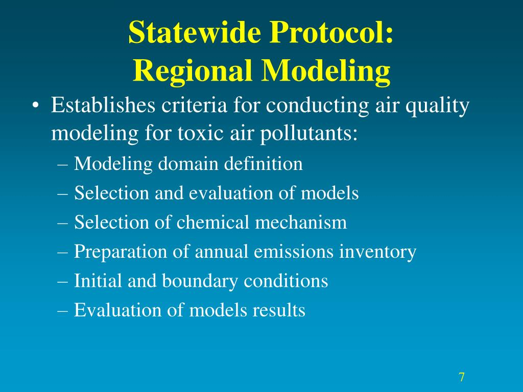 Statewide Protocol: