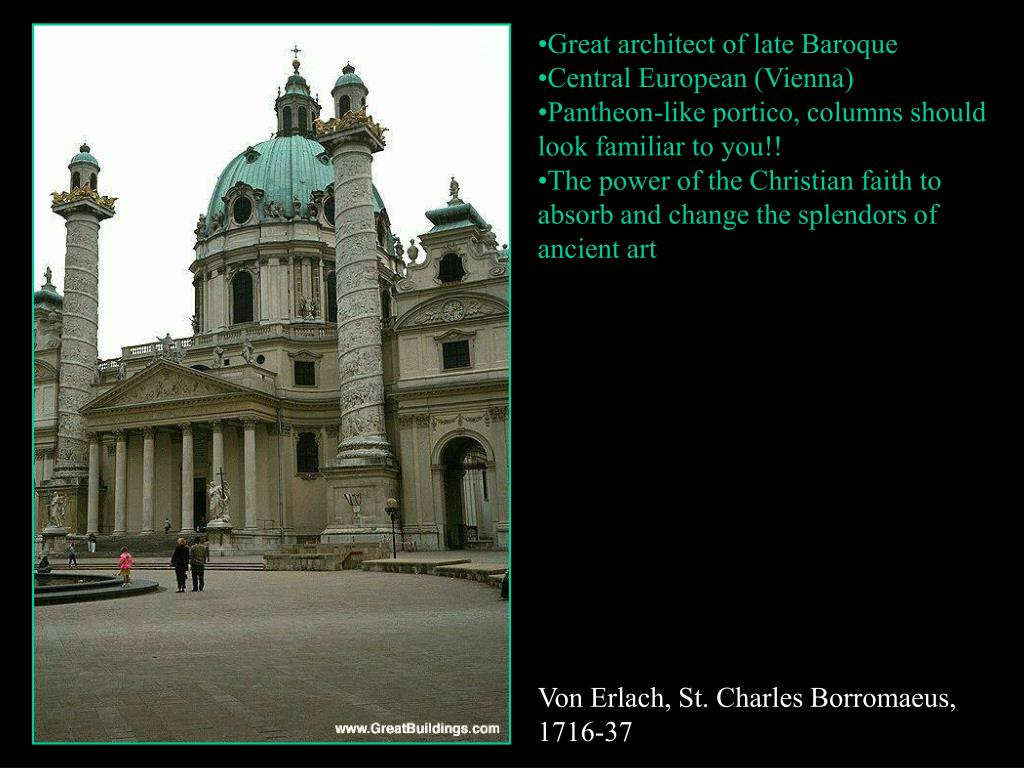Great architect of late Baroque