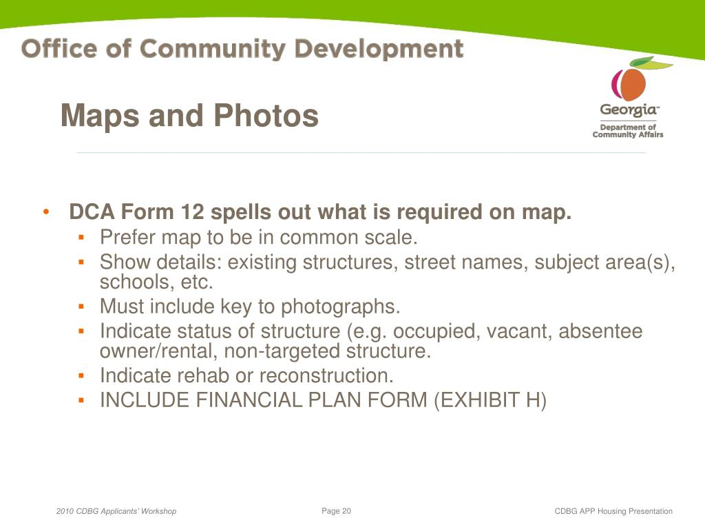 Maps and Photos
